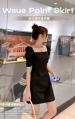 2021年夏季新款 修身显瘦泡泡袖连衣裙