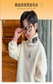 男童秋冬上装 长袖上衣韩版休闲针织衫上衣